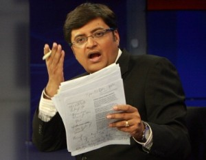 Arnab Goswami, Times Now, Prime Time News, TV News debate