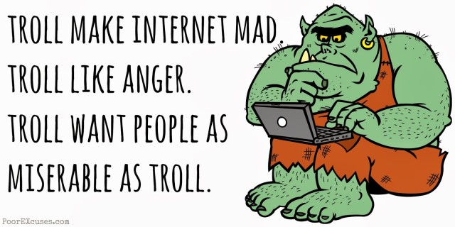 An interview with a Right Wing troll