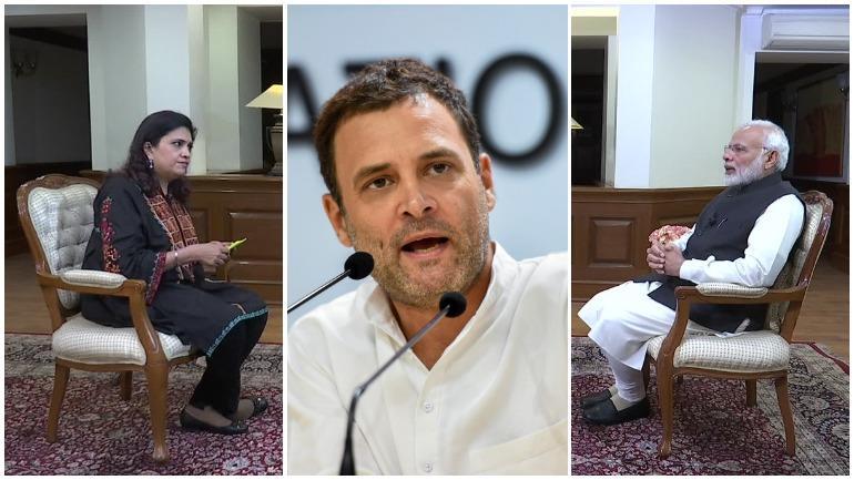 PM Interview, Rahul Gandhi criticises PM interview, Modi interview to Smita Prakash pliable, Presstitute, PM Modi and media, Modi controls media, Track2Media,